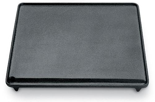 Scopri le 7 differenze fra la griglia in ghisa e la piastra in inox