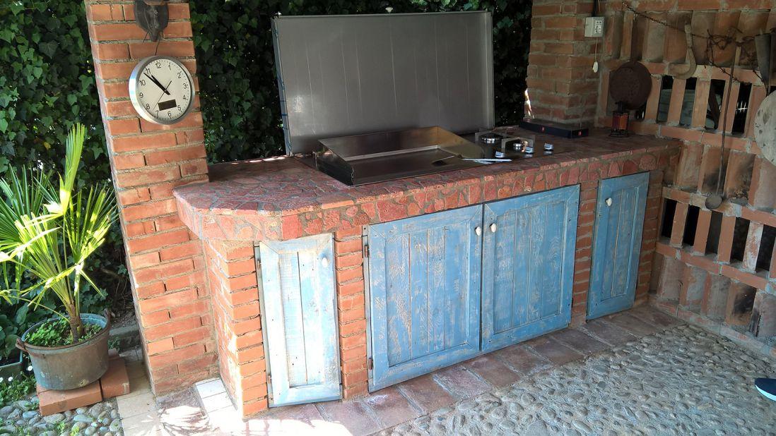 Il miglior barbecue a gas professionale con piastra in ...